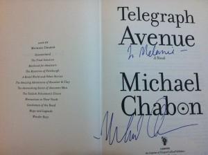 Michael Chabon, Telegraph Avenue