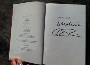 Joseph Anton, Salman Rushdie