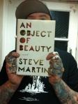An Object of Beauty, Steve Martin, book, booknerd