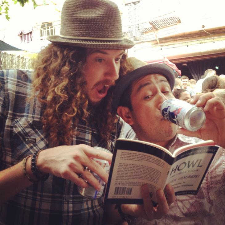 Howl, Allen Ginsberg, HOWL, Ginsberg, City Lights, poem, gay, LGBTQ, beat,