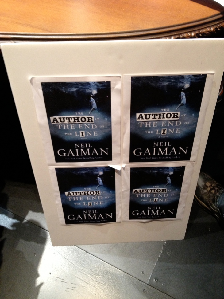 Neil Gaiman, The Ocean at the End of the Lane, Sandman, ACT, A.C.T. Theatre, goth, gothic, book, books, author