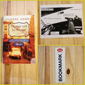 Joanne Harris, The Girl With No Shadown, Chocolat, Lovebuzz, Strand Bookstore