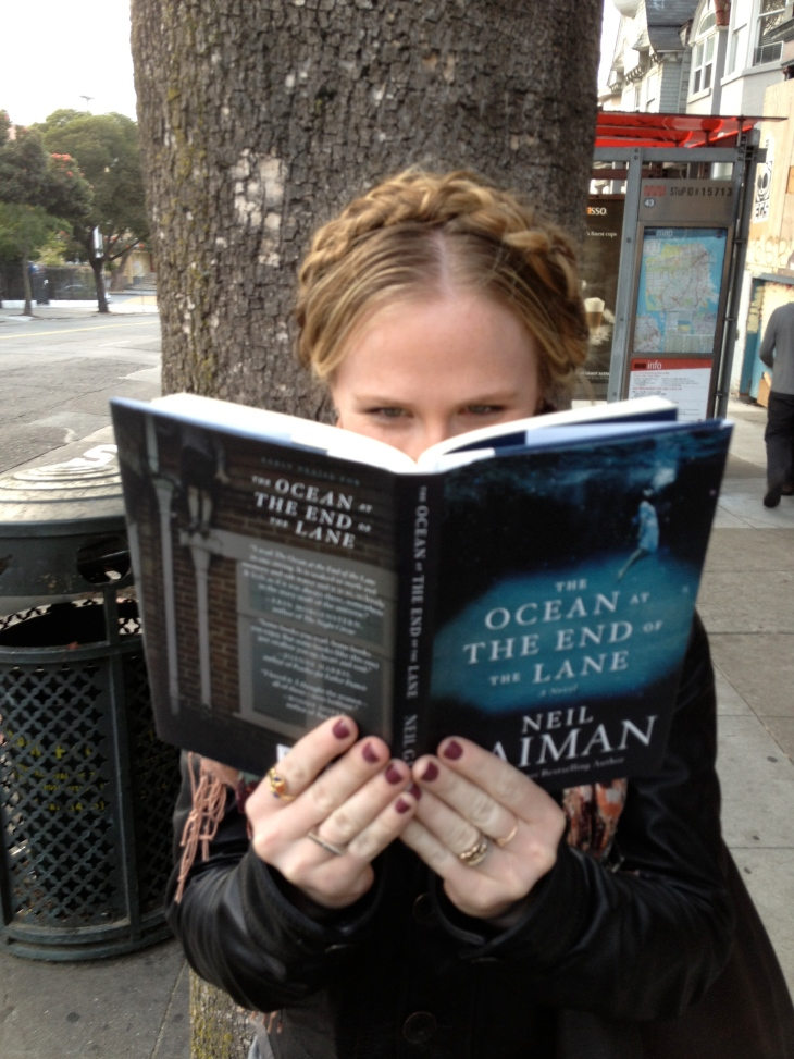 Neil Gaiman, The Ocean at the End of the Lane, goth, gothic, fantasy