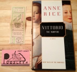 Anne Rice, Vittorio the Vampire, Vampire, goth, gothic, Rice