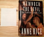 Memnoch the Devil, The Vampire Chronicles, Vampire, Anne Rice, goth, gothic, Rice