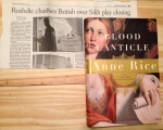 Anne Rice, Blood Canticle, Rice, Rushdie, Vampire, Vampire Chronicles, Salman Rushdie