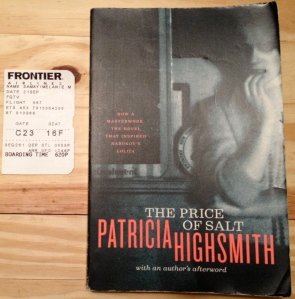 The Price of Salt, Patricia Highsmith, Highsmith