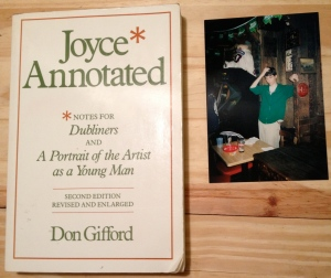 Joyce Annotated, Notes for Dubliners and A Portrait of the Artist as a Young Man, James Joyce, Don Gifford