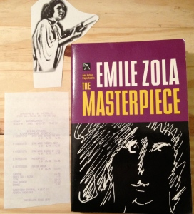 Emile Zola, the Masterpiece, Zola