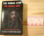 The Club Dumas, the Dumas Club, the Ninth Gate, Arturo Perez-Reverte, Perez-Reverte, Johnny Depp, Roman Polanski