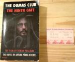 The Club Dumas, the Dumas Club, the Ninth Gate, Arturo Perez-Reverte, Perez-Reverte, Johnny Depp, Roman Polanski
