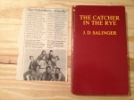The Catcher in the Rye, J. D. Salinger, The Outsiders, Catcher in the Rye
