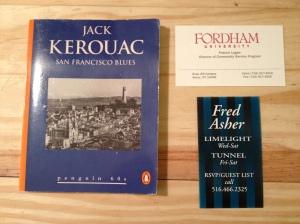 Jack Kerouac, Kerouac, San Francisco Blues, Fordham, Limelight, Tunnel