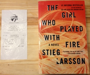 The Girl Who Played with Fire, Stieg Larsson, Smugglers Cove, Lisbeth Salander