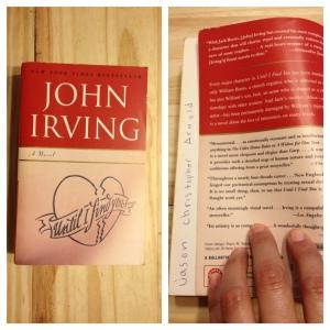 John Irving, Until I Find You