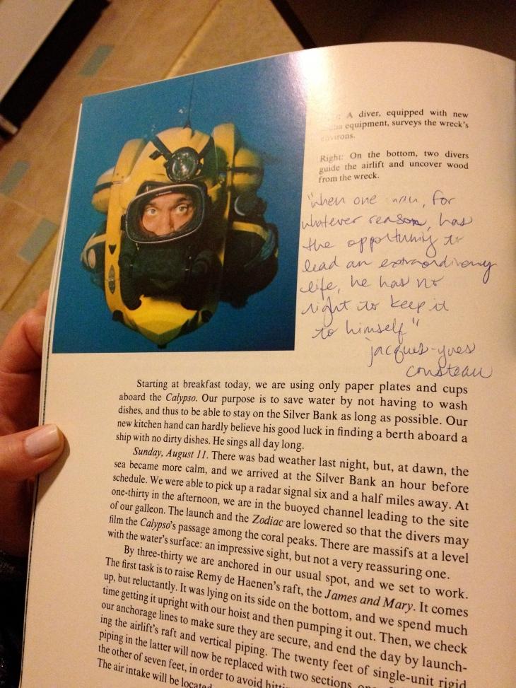 Jacques Cousteau, Life Aquatic