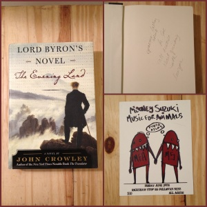 Lord Byron, Lord Byron's novel, Mooney Suzuki, John Crowley