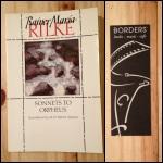 Rainer Maria Rilke, Sonnets to Orpheus, Orpheus, Borders, Rilke