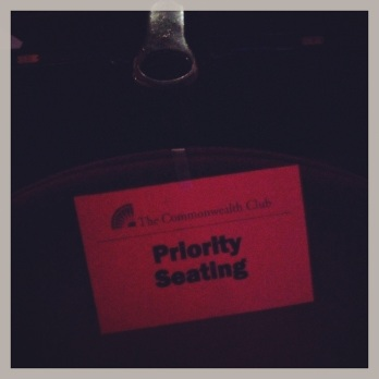 Chuck Palahniuk, Cacophony Society, Commonwealth Club, Castro Theater