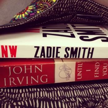 NW, Zadie Smith, Northwest London, John Irving, Until I Find You