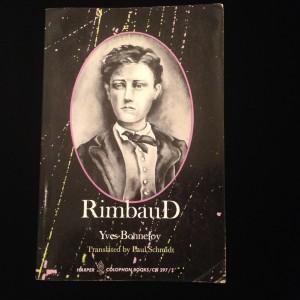 Rimbaud, Yves Bonnefoy, translated by Paul Schmidt