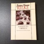 Sonnets to Orpheus, Rainer Maria Rilke