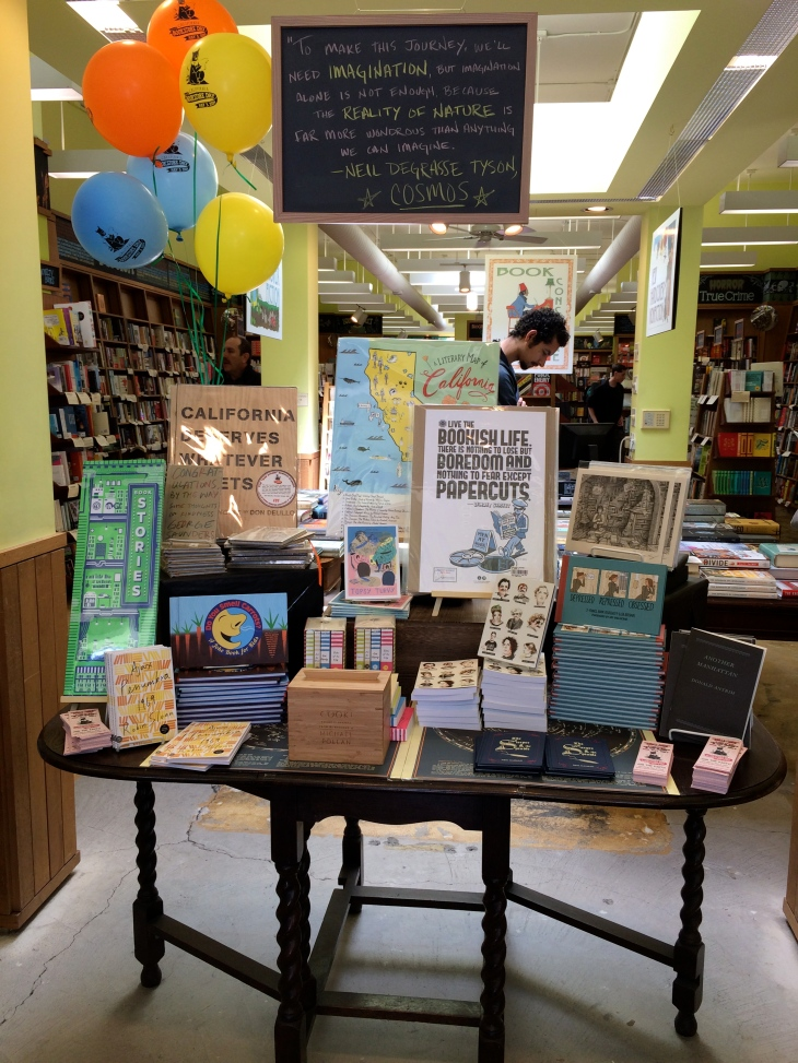 California Bookstore Day, Booksmith, Haight Street, Don Delillo, Neil Gaiman