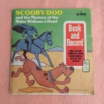 Scooby Doo, Mystery of the Rider Without a Head, book and record