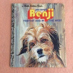 Little Golden Book, Benji, Fastest Dog in the West