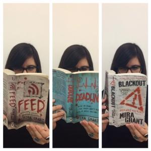 Mira Grant, Blackout, Feed, Deadline