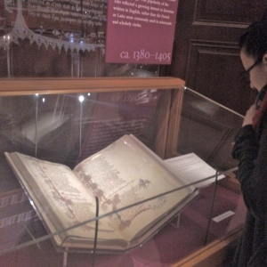 Huntington Library, Chaucer, Canterbury Tales